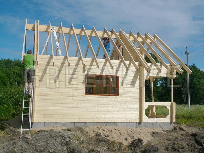 Chalet bois ANNA 60 Maison Bois GreenLife # Mnj Construction Bois