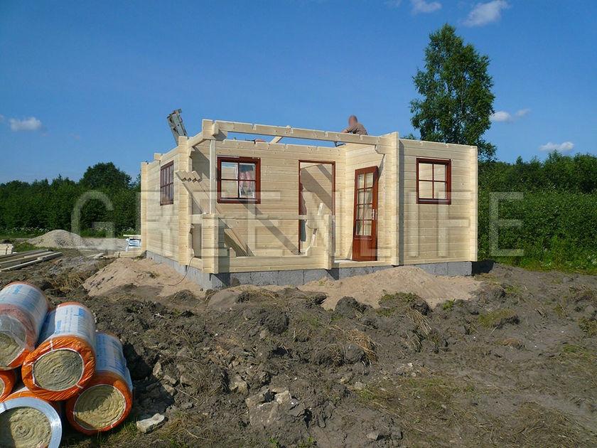 Maison bois habitable abri jardin chalet lounge v2 abri for Maison de jardin habitable