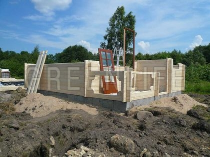 Construction chalet en bois madrier