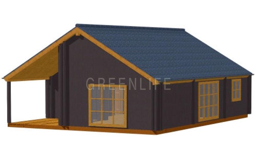 Maison bois LEA 104  Maison Bois GreenLife