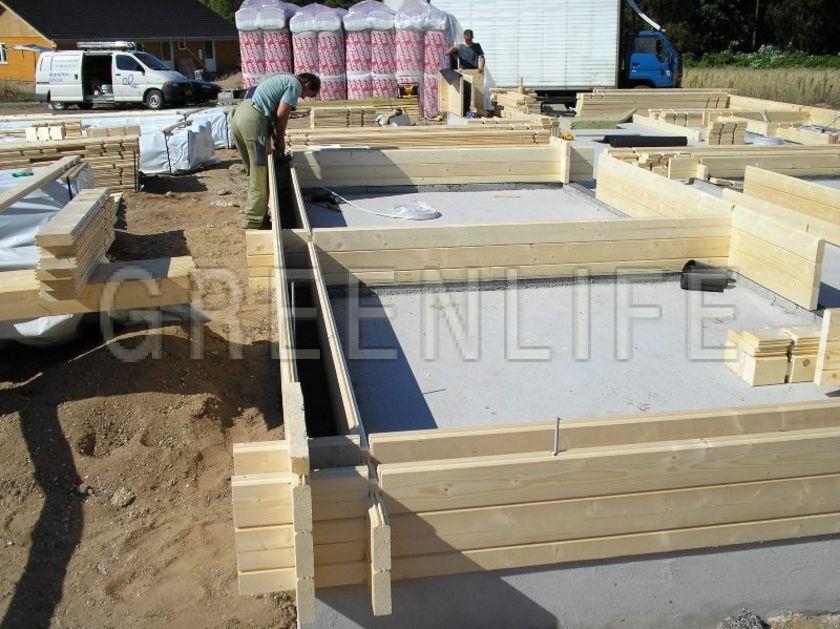 Maison bois louisa 114 maison bois greenlife for Maison rondin de bois prix