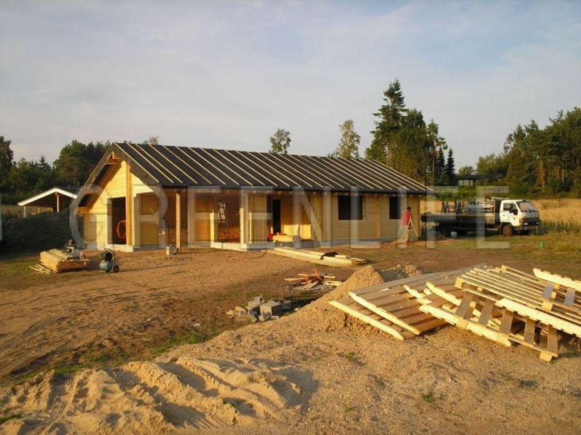 Connu Maison Bois Greenlife. Couverture Duune Maison Cologique Avec Des  YF96