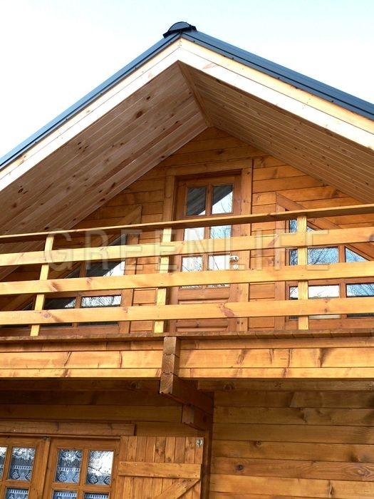 Construction de balcon en bois for Balcon de maison