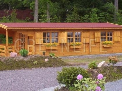 chalet bois jia 42 maison bois greenlife. Black Bedroom Furniture Sets. Home Design Ideas