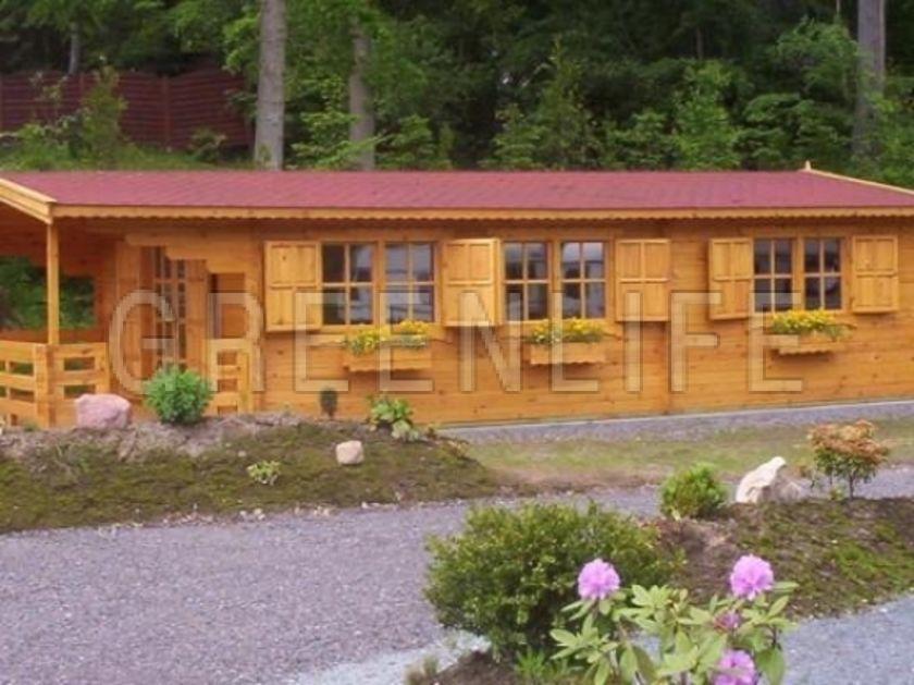 Chalet bois miki 53 maison bois greenlife for Chalet bois kit