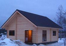 Maison bois madrier massif GreenLife en kit