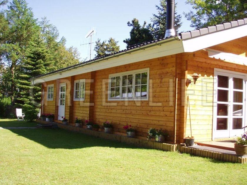 Maison bois TOSCA 128  Maison Bois GreenLife