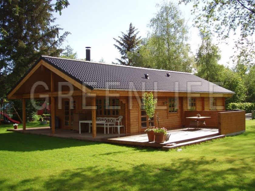 Maison bois tosca 128 maison bois greenlife for Prix construction maison 90m2
