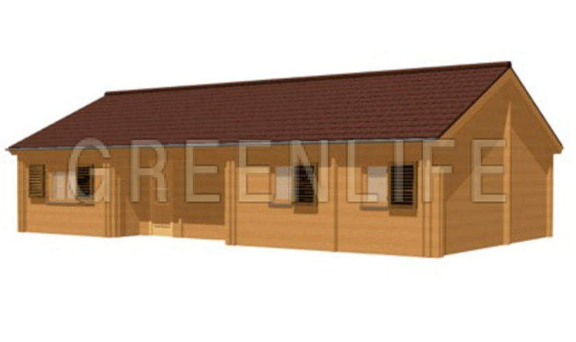 Great chalet en bois m maison en bois kit with maison for Prix au m2 d une extension de maison